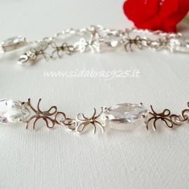 Bracelet with Zircons Marquise