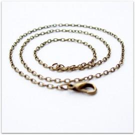 Brass chain ŽG7-1 45-75 cm