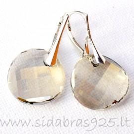 "Earrings with Swarovski ""Facetas"""