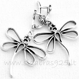 "Earrings ""Dragonflies"" A568"