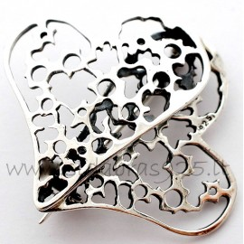 """Brooch """"Two Hearts"""""""