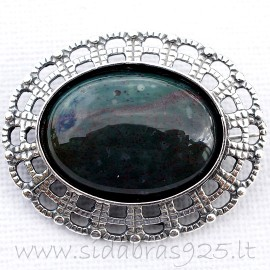 Brooch with Agate S666