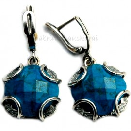 Earrings with Turquoise A440