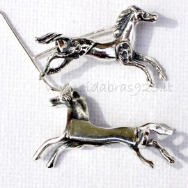 Brooch small horse S467