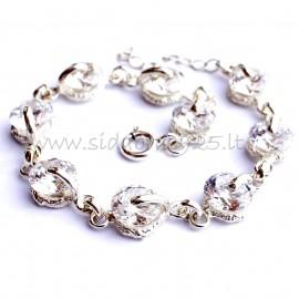 Bracelet with Zircons D