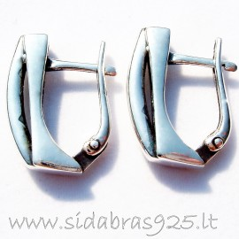 Earrings with English clasp A226