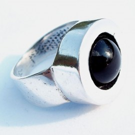 Ring with Onyx Ž080