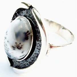 Ring with Agate Ž131