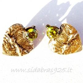 Brass earrings ŽA241