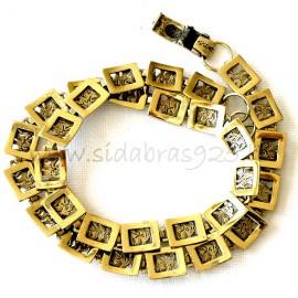 Brass necklace ŽK409