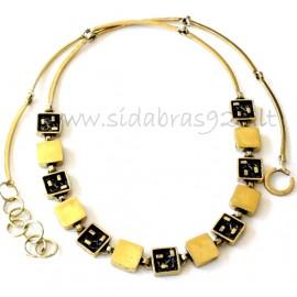 Brass necklace ŽK422/423