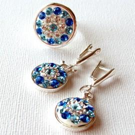 Unique jewelry Set with Swarovski