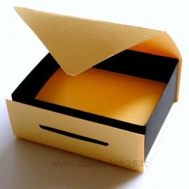 "Gift Box ""Yellow-black"", ""Green-black"""