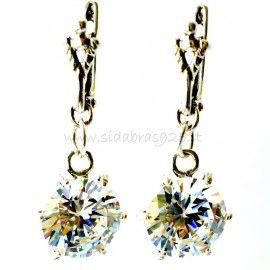 Earrings with Zirconia A101