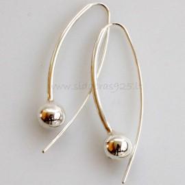 """Earrings """"Aphrodite small bubble"""""""
