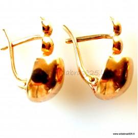 """Bronze earrings """"BS"""""""