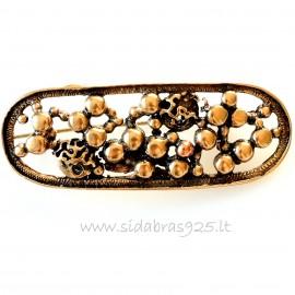 "Bronze brooch ""Bubbles"""