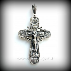 Pendant Orthodox cross P-D