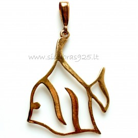 "Bronze pendant BP ""Žuvys"""