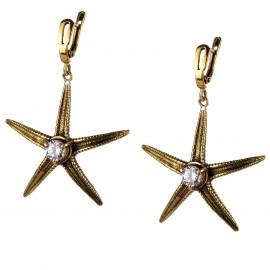 Brass earrings ŽA320