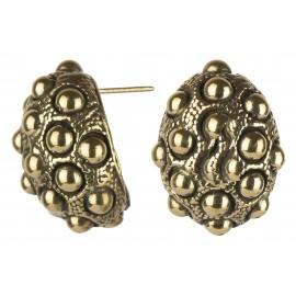 "Brass earrings ŽA719 ""Burbulai"""