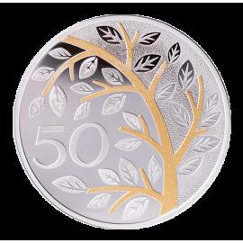 50-year jubilee medal