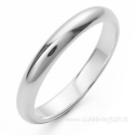 "Wedding ring ""Narrow 2.6"""
