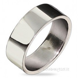 "Wedding ring ""Graviravimui"" 7mm"