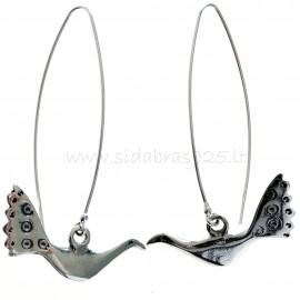 """Earrings """"Bird"""" A609"""