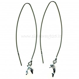 "Earrings ""Dolphins"""