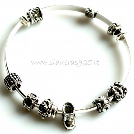 """Bracelet """"With the balls"""""""