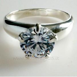 Ring with Zirconia