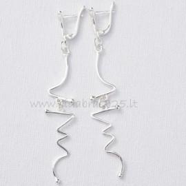 Earrings super long A641