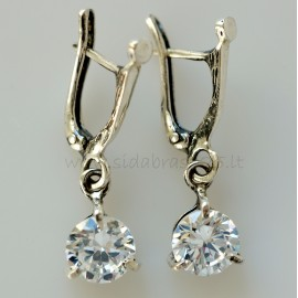 "Earrings with Zirconia ""Meri"""