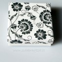 "Gift Box ""Flower box "" White"