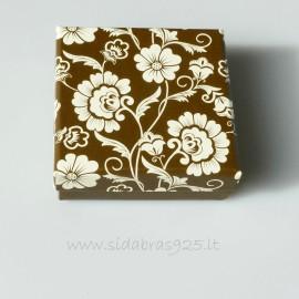 "Gift Box ""Flower box"" Brown"