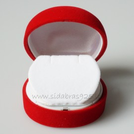 """Gift Box """"Red Box for Earrings"""""""