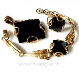 "Bronze jewellery set ""Šilinyčius"""