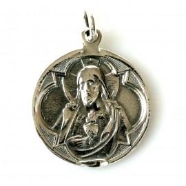 Pendant religious medallion P750