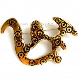 """Brass brooch """"Antelė"""" ŽS664"""