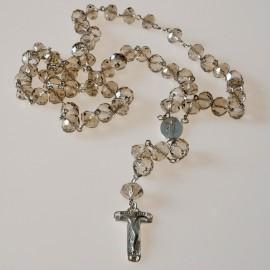 Rosaries lwith light-colored Swarovski