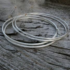 """Earrings Hoop very large """"Sietina AR-7cm"""""""