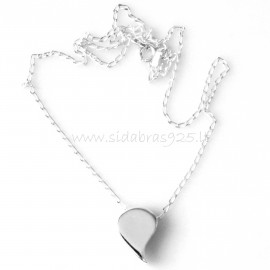 "Pendant ""Heart without loop"""