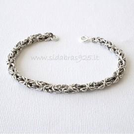 "Chain bracelet Byzantine ""Henri 0,9"""