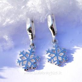 Earrings Snowflakes