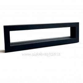 """Gift box """"Frame 3D"""" black"""