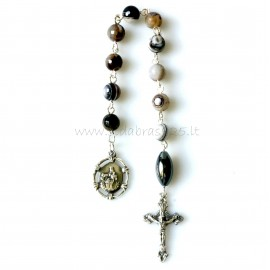 Rosaries Tenner with cross and medallion