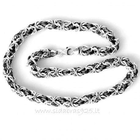 "Chain Byzantine massive handmade ""Hard 1.8"""
